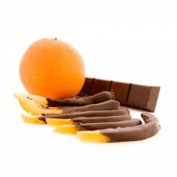 Dark chocolate orange peels